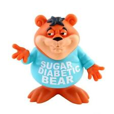 SUGAR DIABETIC BEAR 2017 SDCC DESIGNER VINYL FIGURE BY RON ENGLISH