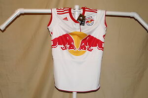 NEW YORK RED BULLS   Adidas ClimaCool JERSEY  Womens  XL   NwT   $70 retail