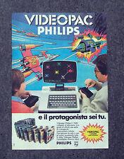 F308-Advertising Pubblicità- 1975 - VIDEOPAC PHILIPS