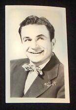 Noah Beery Jr 1940's 1950's Actor's Penny Arcade Photo Card