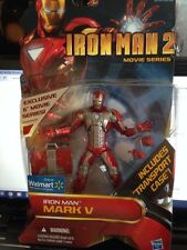 Iron Man 2 Movie Series Iron Man Mk V  6 Inch Walmart Exclusive Action Figure