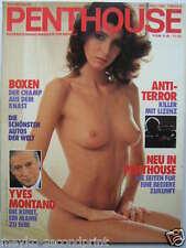 Penthouse (D) 7/1985, Yves Montand, Nancy Sue, Nina Hagen, Marillion, Bubendorf