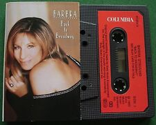 Barbra Streisand Back to Broadway inc Music of The Night + Cassette Tape TESTED