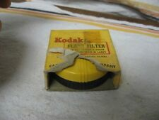 Vintage KODAK FLASH FILTER TYPE A COLOR FILMS SERIS VI Wratten NO 81C