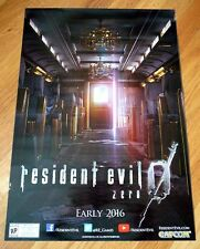 RESIDENT EVIL Zero 0 バイオハザード0 SDCC 2015 CAPCOM Poster