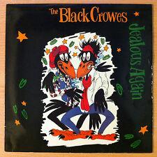 """THE BLACK CROWES   """" Jealous Again """"  - Vinyl maxi  12""""  -  DEFA 412  -  1990 UK"""