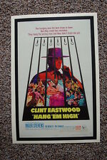 Hang Em High Lobby Card Movie Poster Clint Eastwood