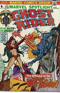 MARVEL SPOTLIGHT ON GHOST RIDER (1972 series) #11 Fine+ (7.0) Back Issue