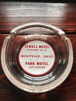 Jewell Motel Montpelier, Idaho ID Advertising Ashtray Motel Hotel Ashtray