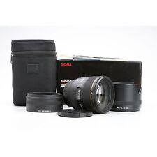 Canon Sigma EX 1,4/85 HSM DG + Sehr Gut (228391)
