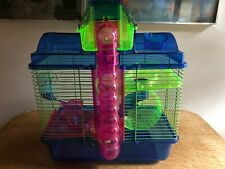 Habitat Cage Hamster Gerbil Mouse Rodent with accessories
