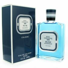 Royal Copenhagen Musk by Royal Copenhagen 8.0 oz EDC Cologne for Men New In Box