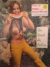 Paris Hollywood X Érotique Sexy Pin Up cheeesecake Sixties N 456 Couleurs