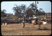 1949 Kodachrome Photo slide Chicago Railroad train Fair #9