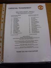 17/09/2013 Manchester United Youth U19 v Bayer Leverkusen Youth U19 [UEFA Youth