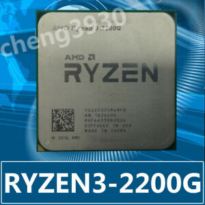 AMD Ryzen 3 2200G 65W YD2200C5M4MFB Socket AM4 Integrated graphics CPU Processor