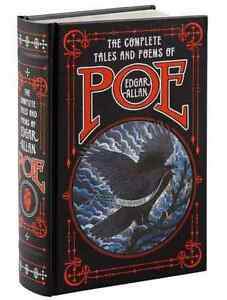 THE COMPLETE TALES AND POEMS OF EDGAR ALLAN POE Collectible LeatherBound SEALED