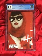 CGC 9.8~DEPARTMENT OF TRUTH #9~LADY IN RED SCOTTS OLIVER VARIANT~TYNION STORY
