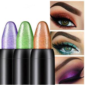 15 Colors Cosmetic Glitter Eye Shadow Lip Liner Eyeliner Pencil Pen Makeup Tool