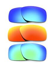 NUOVO Polarizzata Blu / Fuoco / Verde Lente personalizzato per Oakley Holbrook Occhiali da sole
