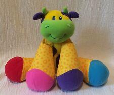 Plush Little Stars Lamaze Learning Curve Yellow Musical Cow Legs Noise
