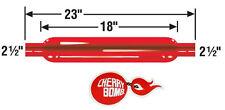 """2.5"""" Straight Universal Cherry Bomb Glasspack Muffler 87529CB"""