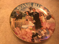 Gone With The Wind Bonnie Blue Music Box Plate Bradford Exchange