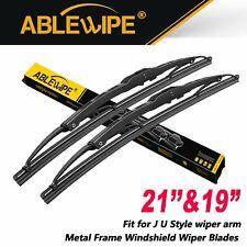 Ablewipe 2119 Fit For Honda Civic 2001 2005 Metal Frame Wiper Blades Set Of 2