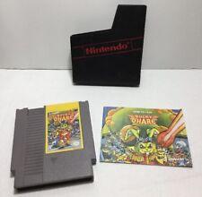 Bucky O'hare NES Nintendo Authentic Original With Manual Rare HTF