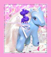❤️My Little Pony G3 Blue Mist 2004 Target Exclusive Friendship Ball Sparkle❤️