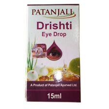 5 x Patanjali Natural Ayurveda Drishti Eye Drop 15ml (0.3 Oz) Soothes Heals Eye