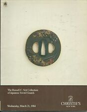 CHRISTIE'S Japanese Sword Fittings Guards Tsuba Veit Collection Catalog 1984