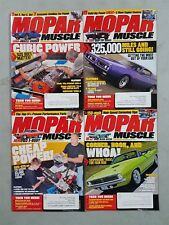 Mopar Muscle Magazine 2012 - Lot Of 4 Complet Issues