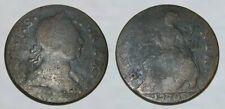 ☆ INCREDIBLE !! ☆ 1772 King George III Revolutionary War Coin !! ☆ VERY NICE !!