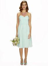 Bhs Darcy Short Bridesmaid Dress Light Mint Size 14 BNWT