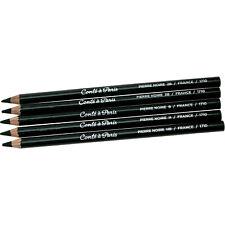 Cont� � Paris Sketching Pencils Pierre Noire - set of 5