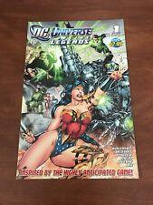 DC Universe Online Legends 1st Issue SDCC 2011 Comic Book