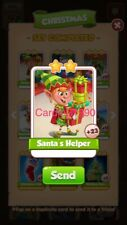 X1 Santa's Helper Coin Master trading card !!!Super Fast Dispatch!!!