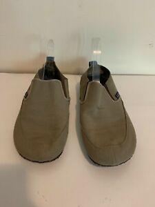 Patagonia Advocate Dark Burlap Mens Minimalist Slip On Loafer Travel Shoes Sz 9
