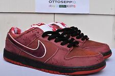 10.5 NIKE SB DUNK Red Lobster blue sport pink concepts vtg qs low high premium