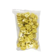 Dental Bite Block Autoclavable Silicone Mouth Props Small Yellow (Bag of 25)