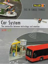 FALLER CAR SYSTEM HO CATALOG | NOS | TMS-1020
