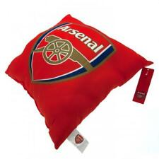 Arsenal FC Crest Red The Gunners Football Kids Filled Bedroom Cushion Official