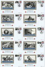 More details for 17 sept 2013 animals of ww i set of all 10 benham small silks bssp 938 / 47 fdcs