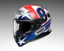 Shoei NXR Indy Marquez  Motorradhelm Fb.rt/bl./ws Gr.M UVP:559€