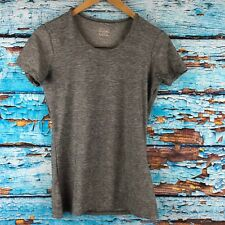 32 Degrees Cool Size Small Gray Womens Short Sleeve Shirt Athletic