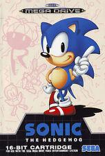 ## SEGA Mega Drive - Sonic The Hedgehog 1 / MD Spiel ##