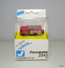 Viessmann N 2043 - Camion dei vigili del fuoco con luci e lampeggianti a LED