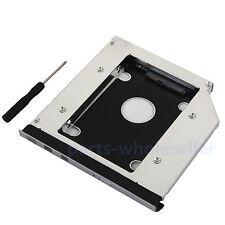 Con frontalino anteriore 2nd HDD SSD Tray Caddy per Dell E5420 E5520 E5430 E5530