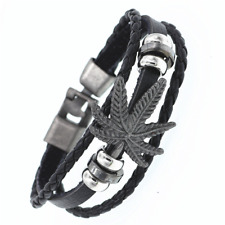 2019 Multilayer Bracelet WOMEN/MEN Casual Fashion Braided Leather Punk Rock 123